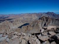 High Sierra Nevada, from Mt. Whitney